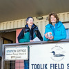 "During a brief visit to UAF's Toolik Field Station in Sept., 2013, U.S. Senator Lisa Murkowski, right, poses with Toolik associate science director Donie Bret-Harte.  <div class=""ss-paypal-button"">Filename: AAR-13-3929-415.jpg</div><div class=""ss-paypal-button-end""></div>"