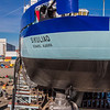 "The R/V Sikuliaq sits on the pad at Marinette Marine Corporation in Marinette, Wisc., a day before it's official launch.  <div class=""ss-paypal-button"">Filename: AAR-12-3592-150.jpg</div><div class=""ss-paypal-button-end"" style=""""></div>"