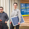 "Assistant Professor Tom Marsik, right, and undergraduate Andrew Akelkok post outside their Applied Sciences Building at UAF's Bristol Bay Campus in Dillingham.  <div class=""ss-paypal-button"">Filename: AAR-16-4860-260.jpg</div><div class=""ss-paypal-button-end""></div>"