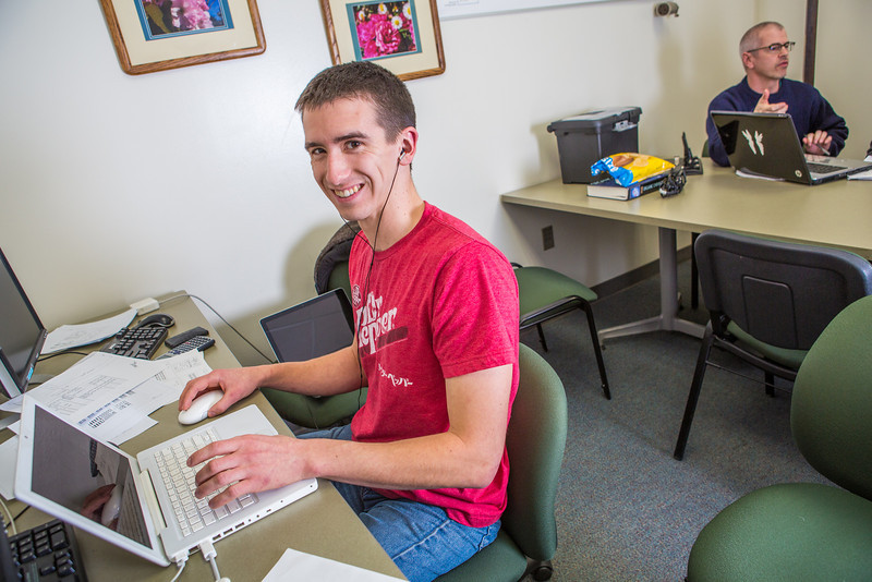 """Josiah Alexander catches up on some chemistry work in a Reichardt Building study lounge.  <div class=""""ss-paypal-button"""">Filename: AAR-12-3598-111.jpg</div><div class=""""ss-paypal-button-end"""" style=""""""""></div>"""