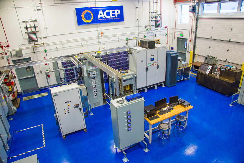 "An interior view of the testing facility at the Alaska Center for Energy and Power.  <div class=""ss-paypal-button"">Filename: AAR-13-3705-184.jpg</div><div class=""ss-paypal-button-end"" style=""""></div>"