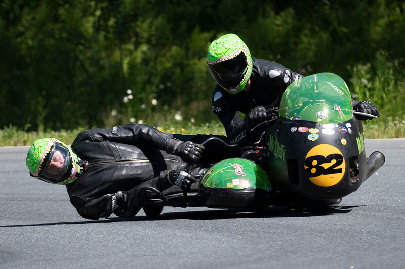 USCRA Motorcycle Race at Canaan