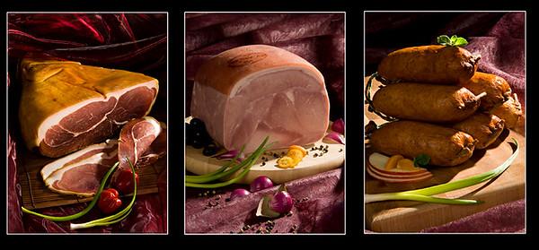 Plus de 40 ambiances agro-alimentaires réalisées en studio.Le jambon de Bayonne , j'adore !