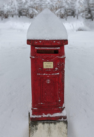 post your letters to santa