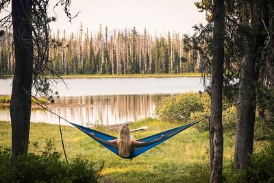 Hanging at Scott Lake