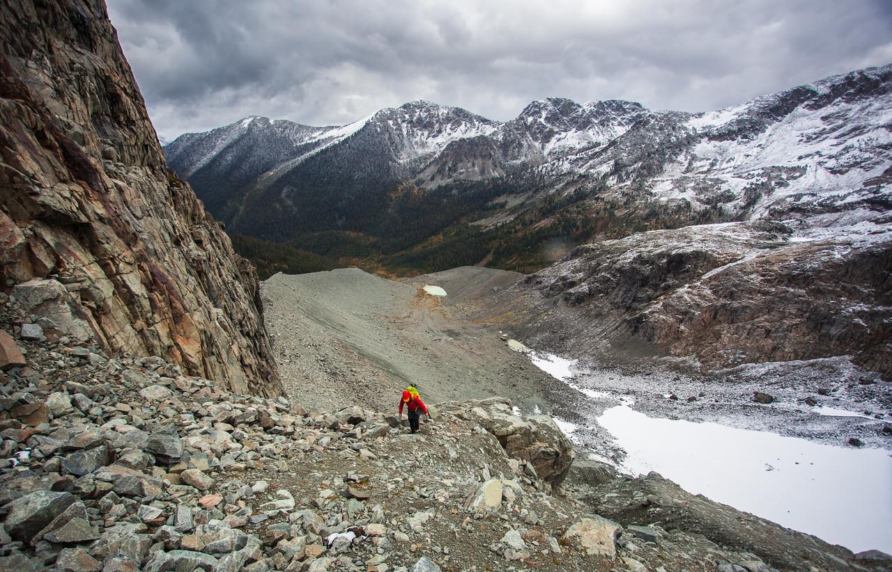 Mountain Scramble, Pemberton, British Columbia