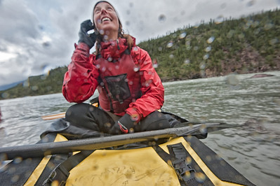 Images taken on a two week canoe ecoadventure in the Yukon's Snake River. The Snake is part of a huge wilderness destination of the Peel River.