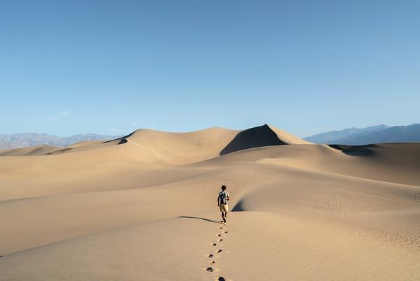 Walking into no man´s land
