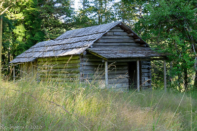 Humes Ranch cabin, built around 1900.