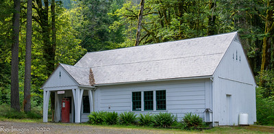 Work buildings at the Elwha Ranger station from to 1930s