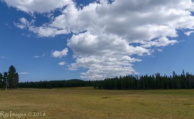 Clouds above Summit Park.