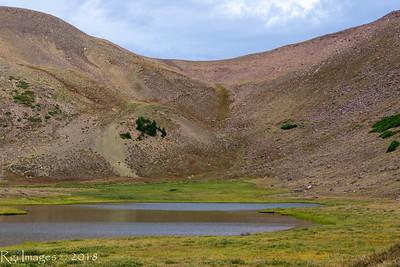 Gabbro Pass above Wilde Lake.