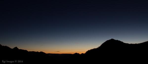 Sunrise from Chinook  Pass