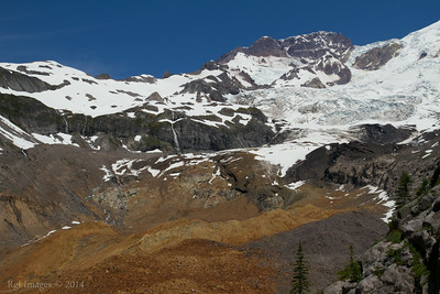 The South Tahoma Glacier.