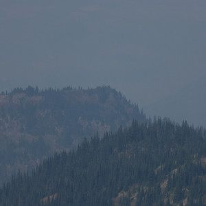 Shriner Peak and fire lookout