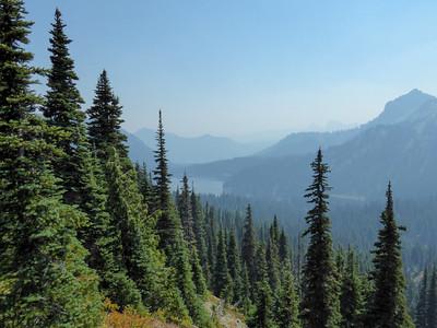 Dewey Lake from Tipsoo Peak loop trail