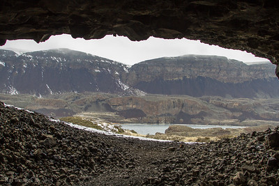 View from the cave.