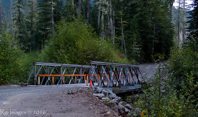 New bridge over Fish Crek