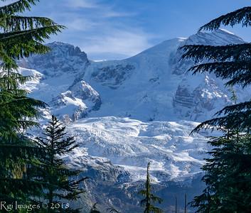 The South Tahoma glacier.