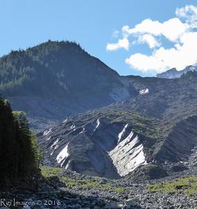 Snout of the Carbon Glacier