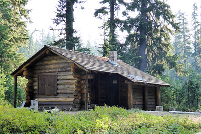 Three Lakes Patrol Cabin.