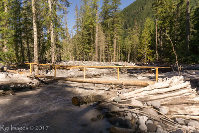 Carbon River crossing
