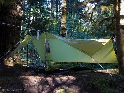 Camp at Ipsut Creek.