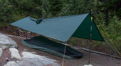 Camp at Snow Lake.