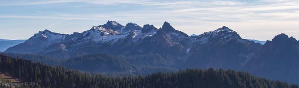 The Tatoosh Range.