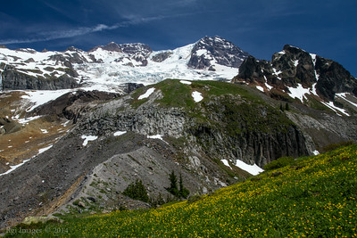 The Mountain from Emerald Ridge.