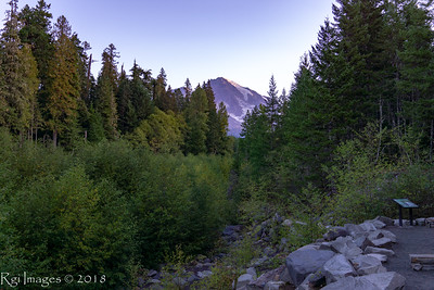 First light from Kauntz Creek trailhead