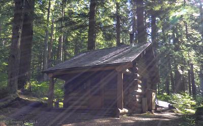 Patrol Cabin, St. Andrew's Creek