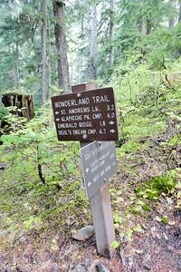 Wonderland Trail junction.
