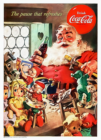 1953 Coca-Cola Christmas Advertisement