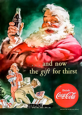 1952 Coca-Cola Christmas Advertisement