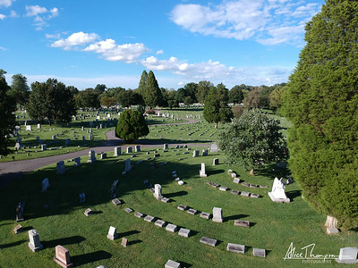 St. Michael's Cemetery (Aerial View) - Louisville, Kentucky