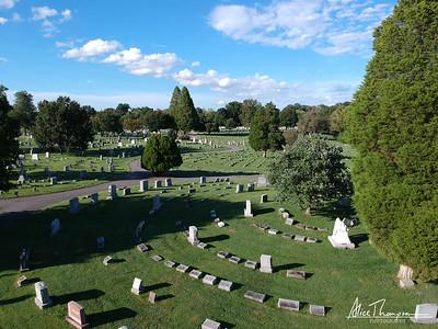 St. Michael's Cemetery (Aerial View) - Louisville, Kentucky