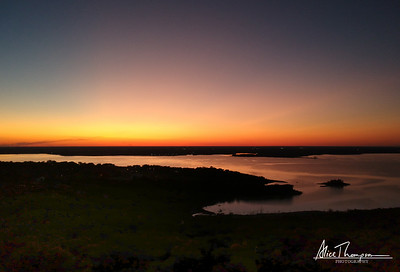Lake Waco Sunset - Waco, TX
