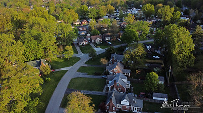 Iroquois Neighborhood - aerial view