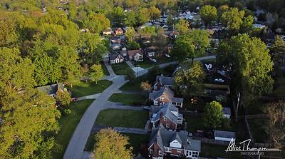 Iroquois Neighborhood - aerial view
