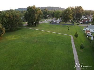 Neighborhood Park - Aerial View, Louisville, KY