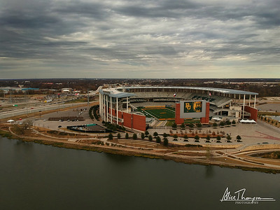 McLane Stadium, home of Baylor Bears - Waco, TX