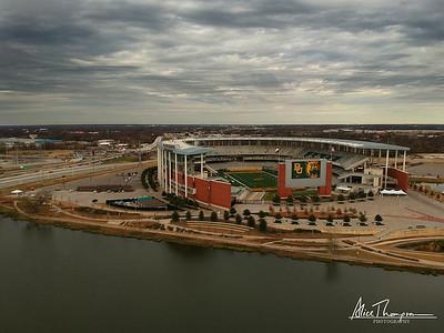 McLane Stadium, home of Baylor Bears - Waco, TX