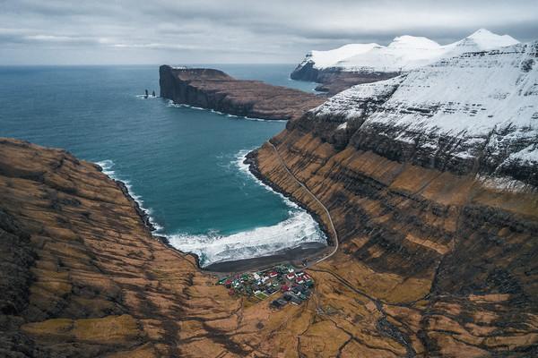 Tjørnuvik, Faroe Islands.