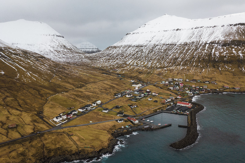 The small village called Oyndarfjordur