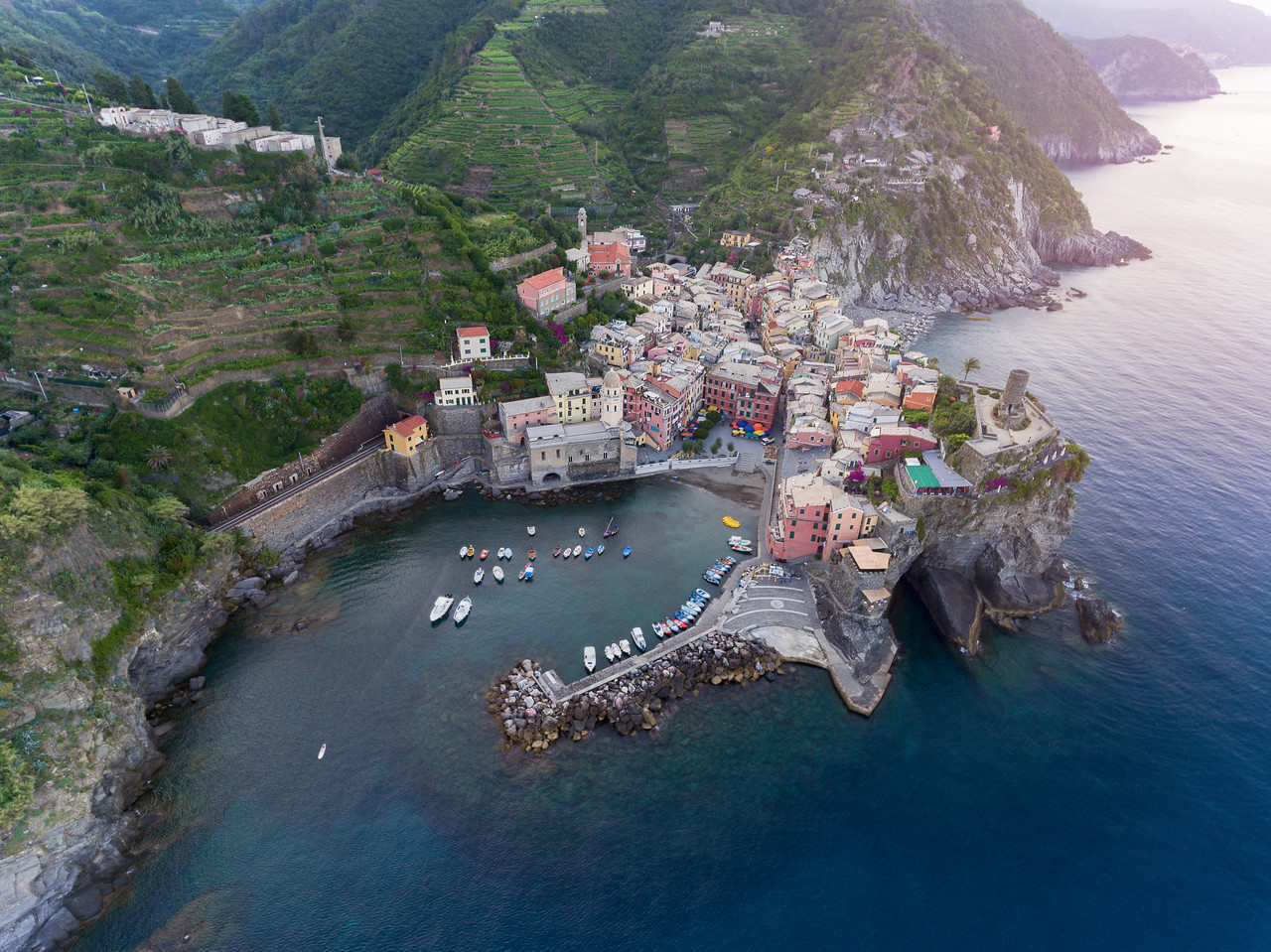 Vernazza From Above || Vernazza, Italy