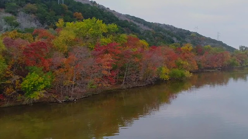 Fall Colors on Inks Lake