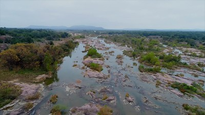 the Llano River