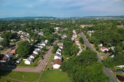 Berdan Ave Looking West - Fair Lawn, New Jersey