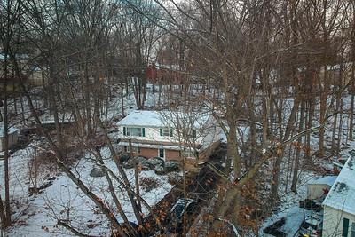 Private Residence - Christmas Snow